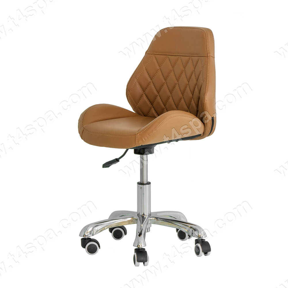 Signature Technician Stool Diamond Cappuccino